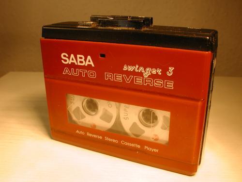 SABA walkman swinger 3