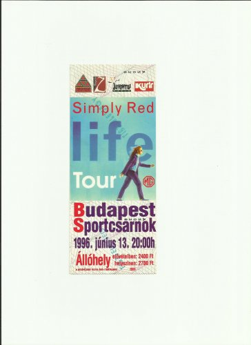 Simply Red koncertjegy