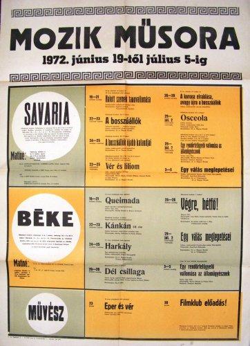 Szombathelyi moziplakát