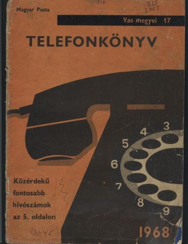 Szombathelyi / Vas megyei telefonkönyv