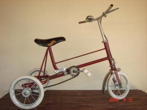 Bicikli három kerekű