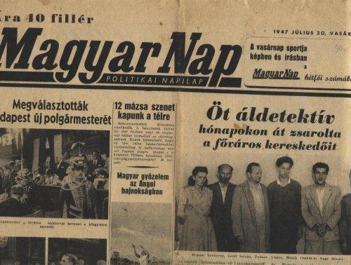 Magyar Nap újság