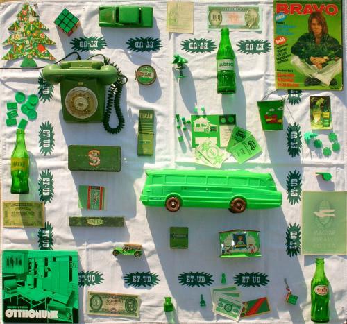 Retro színesben - zöld