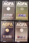 AGFA kazetták