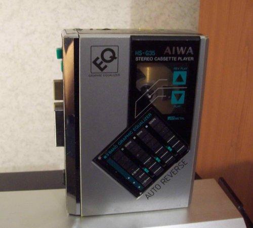 AIWA HS-G35 walkman