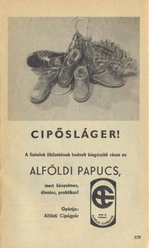 Alföldi cipő