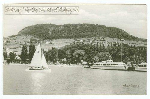 Badacsony képeslap