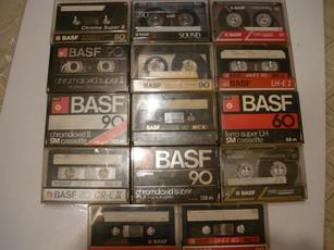 BASF kazetta gyűjtemény