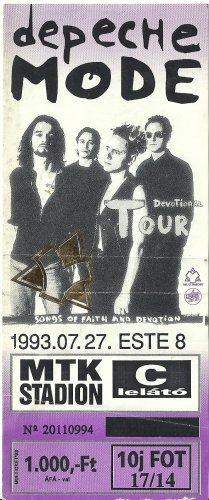 Depeche Mode koncertjegy