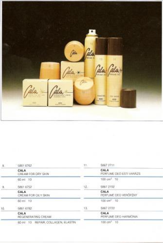 Caola Cala kozmetika család 2