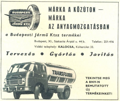 Budapesti Jármű Ktsz Csepel teherautó