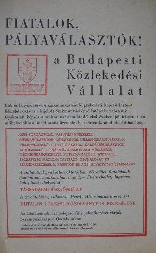 """BKV """"toborzó"""" hírdetés"""