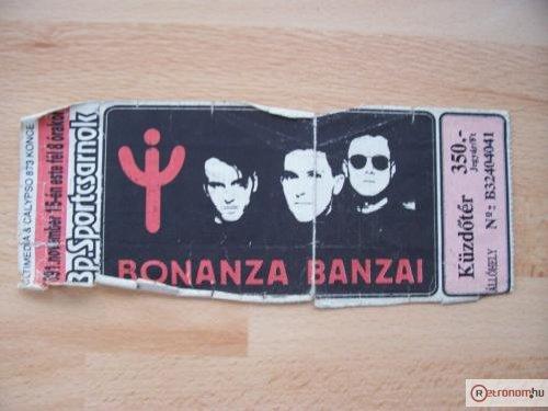 Bonanza Banzai koncertjegy