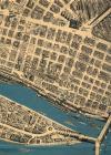 Budapest térhatású térkép részlet