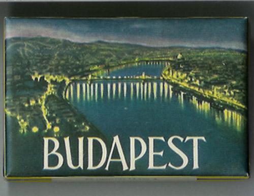 Budapest cigarettás doboz
