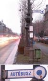 Buszmegálló   --     Bp. Andrássy út 100 előtt