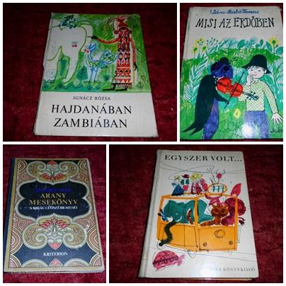 Gyerekkönyvek 70-es évek
