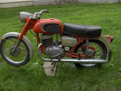 Czetka Jawa motorkerékpár