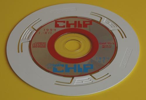 Chip magazin első CD melléklete