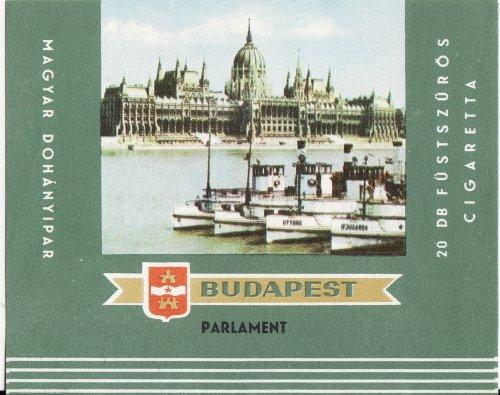 Budapest cigaretta