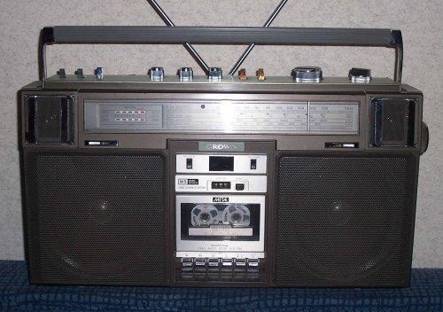 Crown CSC-960ML Boombox - Ghettoblaster - rádiómagnó