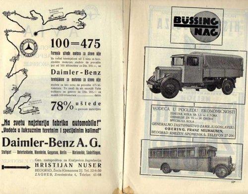 Daimler autóreklám