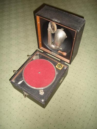 Decca táska gramafon