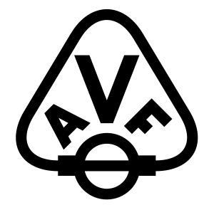 Autóvillamossági Felszerelések Gyára embléma