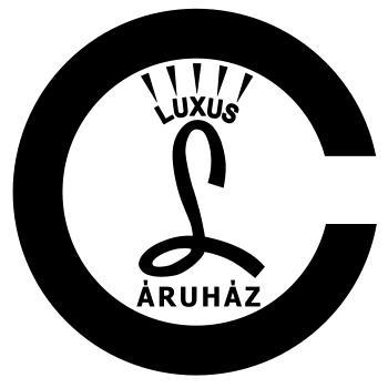 Luxus Áruház embléma