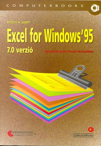 Excel for Windows'95