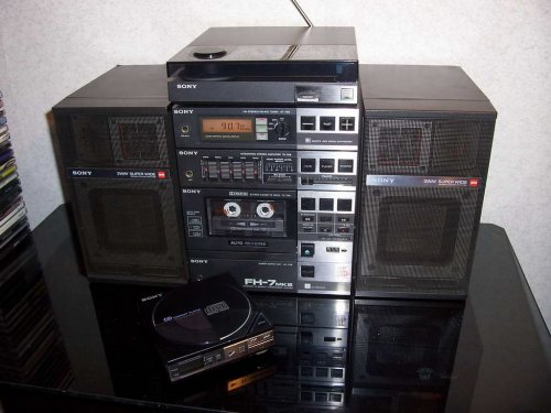 Sony FH-7 Mk III rádiómagnó/minitorony