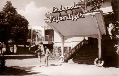 Balatonföldvár Budapesti Hajtóműgyár üdülő