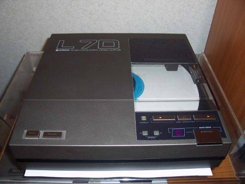 Hitachi HT-L70 falra szerelhető tangenciális lemezjátszó