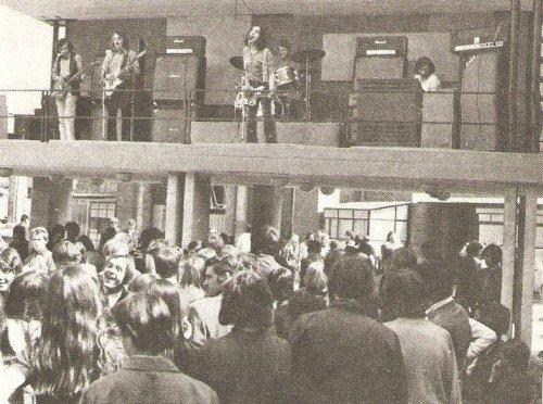 Metró együttes az Ifjúsági Parkban