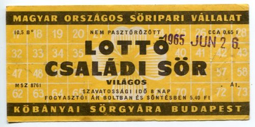 Lotto családi sör