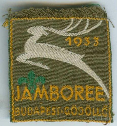 Jamboree Budapest - Gödöllő / Nemzetközi cserkésztalálkozó embléma