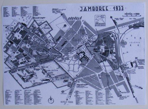 Cserkész Jamboree térkép
