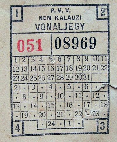 Budapesti vonaljegy