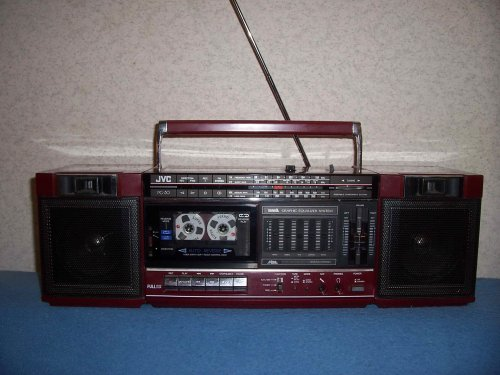 JVC PC-30 rádiómagnó