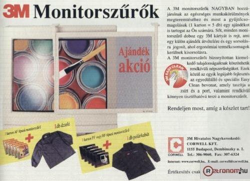 3M monitorszűrők