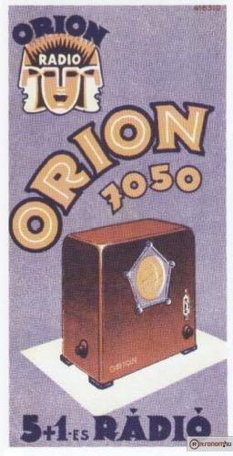 Orion 7050 rádió
