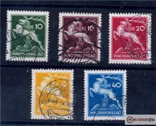 Cserkész Jamboree bélyegek
