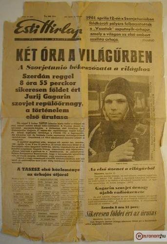 Gagarin az űrben