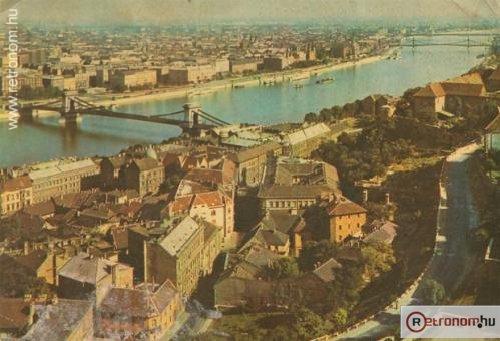 Budapest látkép