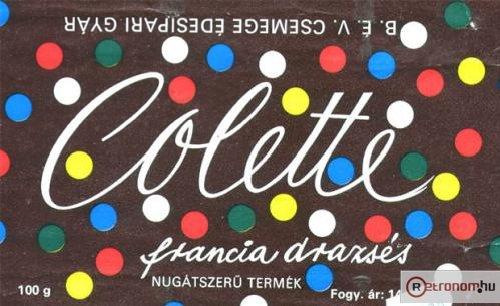 Colette csokoládé drazsé