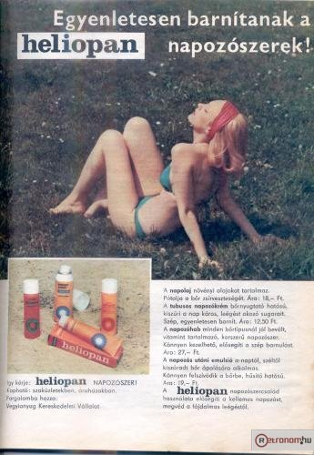 Heliopan termékek