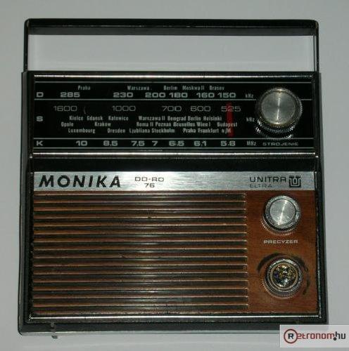 Unitra Mónika rádió