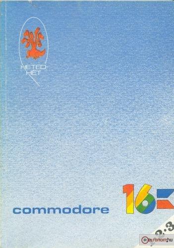 Commodore 16 számítógép kezelési utasítás