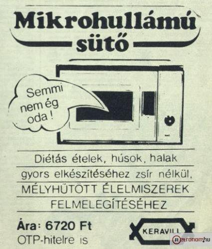 ELEKTRONYIKA Mikrohullámú sütő (SZP-01)