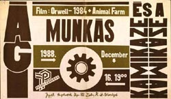 Kamikaze plakát